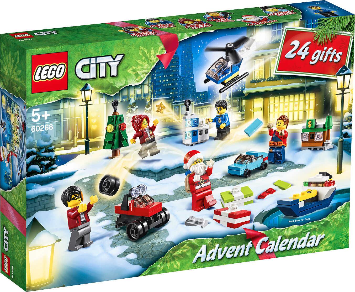 Adventskalender Sammeldeal: z.B. LEGO CITY Adventskalender 60268 für 14,61€ [Kaufland ab 15.10.]