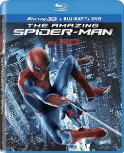 The Amazing Spiderman (3D BluRay) 10 €@Saturn Late Night Shopping