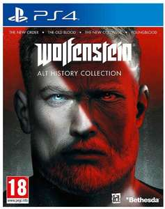 Wolfenstein: Alt History Collection (PS4 & Xbox One) für 25€ inkl. Versand (Base.com)