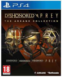 Dishonored & Prey: The Arkane Collection (PS4 & One) für 26,80€ inkl. Versand (Simplgygames)