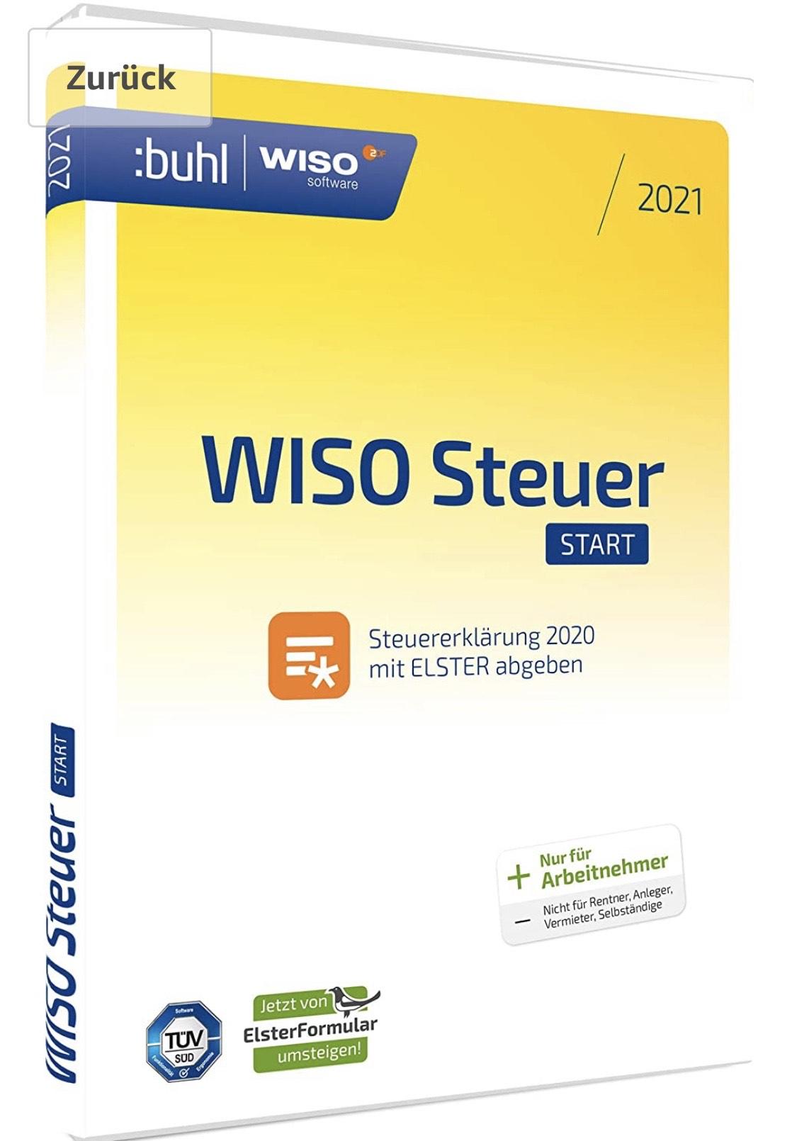 Amazon WISO Steuer-Start 2021 (Standard-Verpackung ...