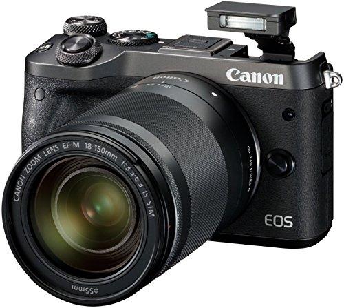 [El Corte Ingles] Systemkamera Digitalkamera Canon EOS M6 Kit mit Objektiv EF-M 18-150 mm silber