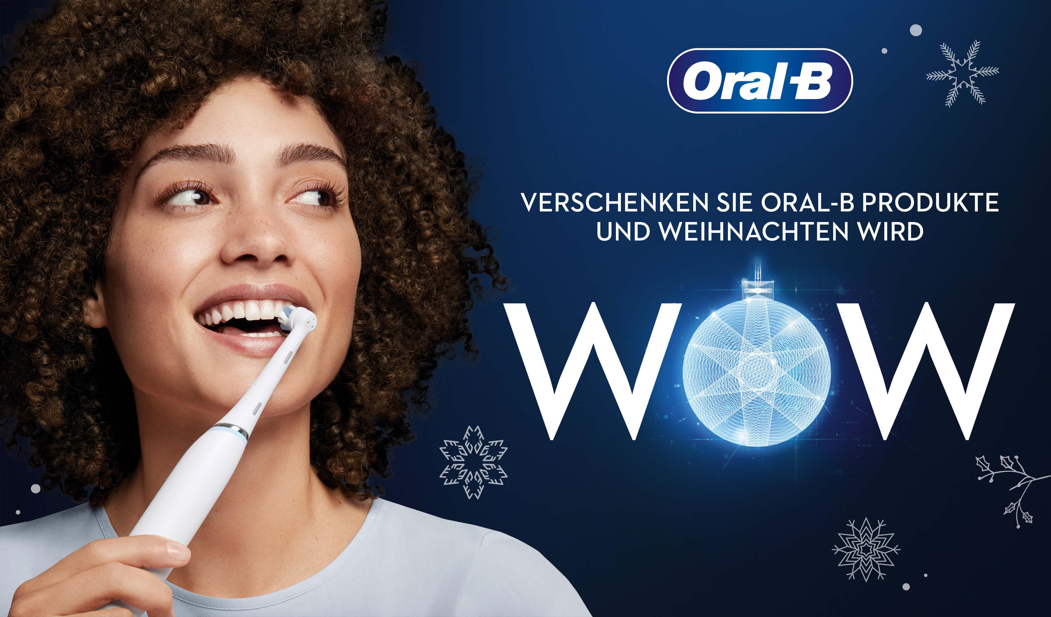 "ORAL-B CASHBACK-AKTION ""X-MAS 2020"" – Bis zu 40 Euro Cashback"