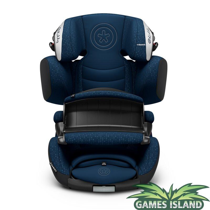 Kiddy Guardianfix 3 - Kindersitz in Mountainblue, auch Cruiserfix 3 zu Bestpreis