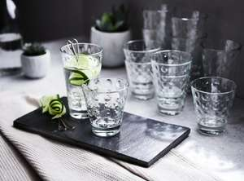 "LEONARDO Gläser-Set ""Optic"" 12-teilig, offline 9,79€ online 13,74€ , XXXLutz"