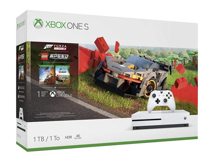Xbox One S 1 TB Konsole – Xbox One S Forza Horizon 4 LEGO® Speed Champions-Bundle (1 TB)