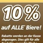 [real] 10 % auf alle Biere (auch für Werbeartikel) am Mittwoch, 6.02.2013