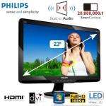 Philips 234EL2SB Full HD LED-Monitor 58,42cm/23 Zoll mit HDMI und SmartContrast 20.000.000:1