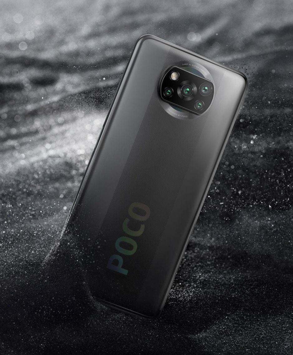 Mittwoch: Xiaomi Poco X3 NFC Grau 6 GB / 64 GB