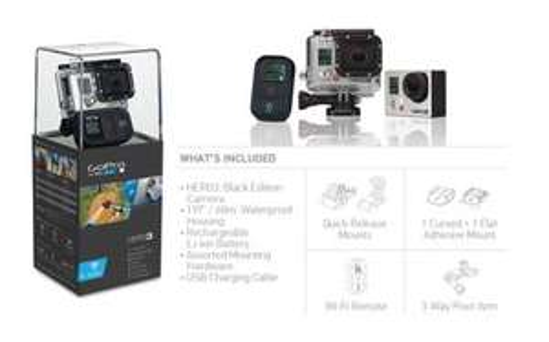 [ebay] GoPro Hero 3 Black Edition für 404,99€ inkl. VK