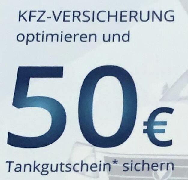 50€ Tankgutschein für Anmeldung bei Geld.de erhalten