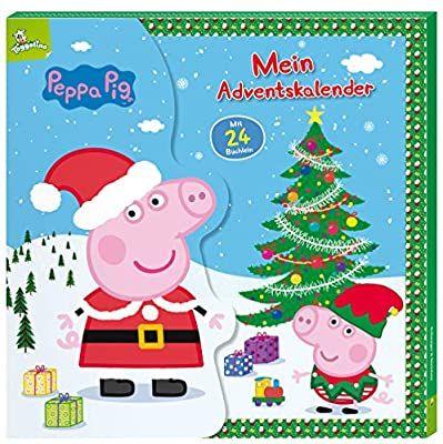 Adventskalender mit Minibüchern, Die Maus, Peppa Pig, PAW Patrol, ab 26.10.20 Aldi Süd und Nord