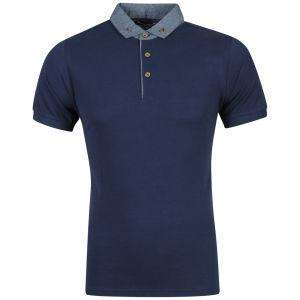 [The Hut] Boxfresh Men's Kame Polo Shirt - Navy