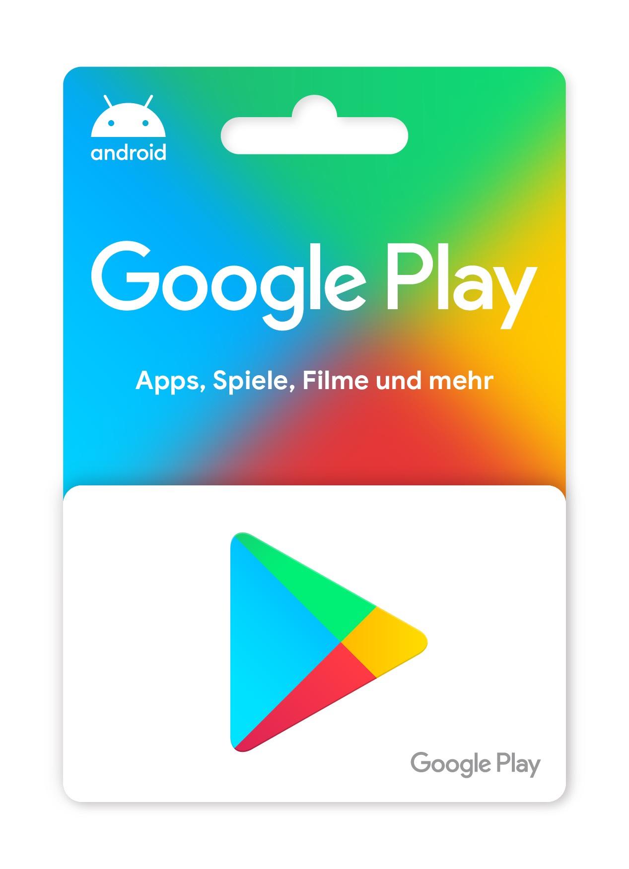 Google Play Guthaben Geschenkt