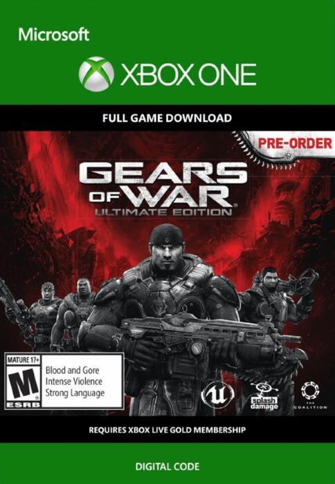 Gears Of War: Ultimate Edition (Xbox One) für 1,09€ (Cdkeys)