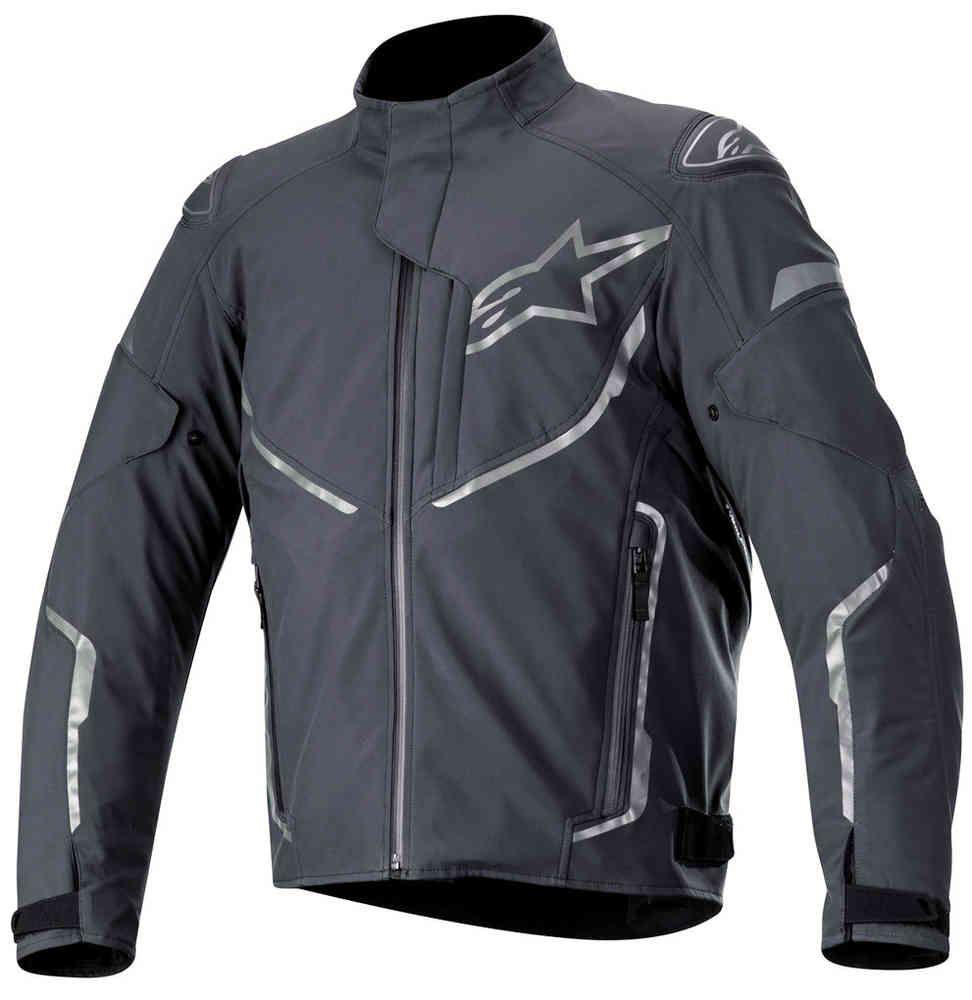 Alpinestars T-Fuse Sport wasserdichte Motorrad/Roller Textiljacke, Anthrazit
