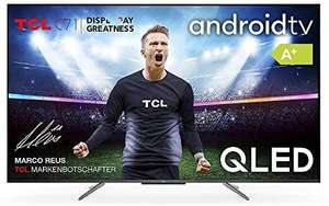 TCL 50C715 QLED Fernseher 127 cm (50 Zoll) Smart TV (4K Ultra HD, HDR 10+, Dolby Vision Atmos, Triple Tuner [Prime]