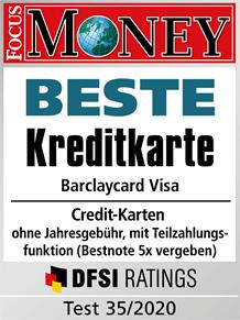Kostenlose Barclaycard Visa mit 50 € Startguthaben und bis zu 55 € KwK-Prämie