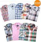 Lorenzo Calvino Milano Herrenhemd Halbarm (24 Farben) @Ebay
