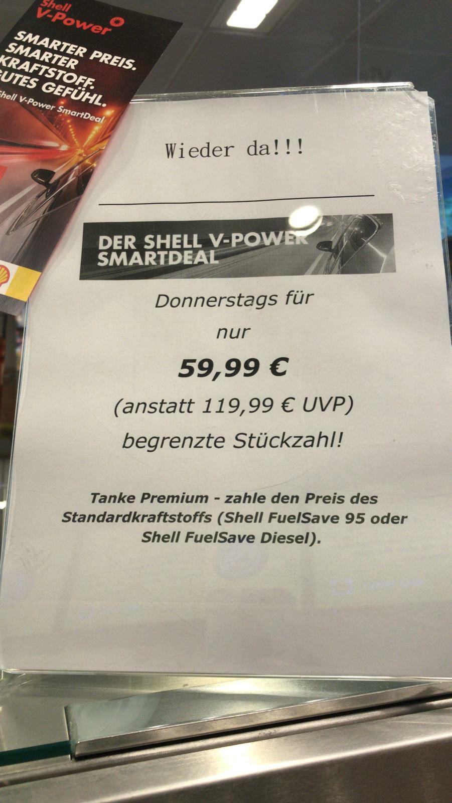 Shell V-Power Smart Deal Solingen