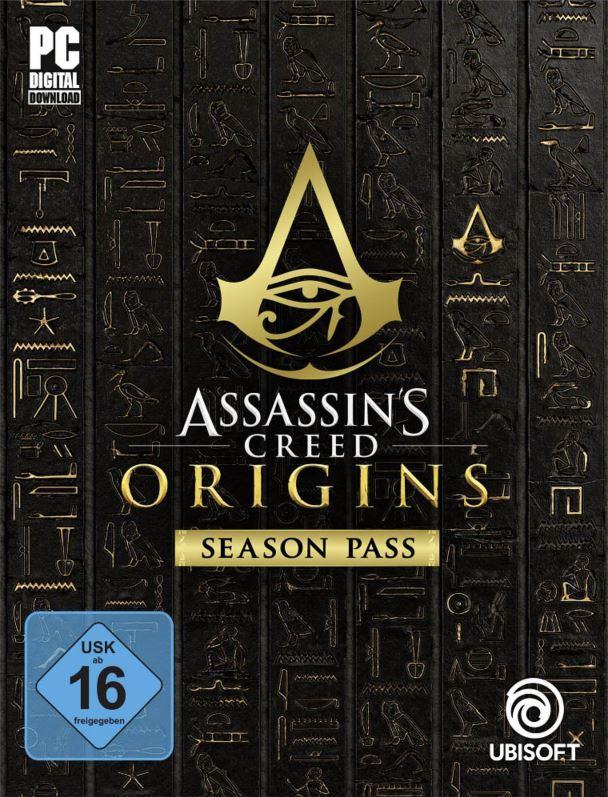[Prime Day] Assassin's Creed Origins - Season Pass [Uplay Code] für 3,36 €