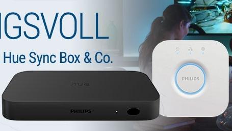 [Mediamarkt] Philips Hue Play HDMI Sync Box + Philips Hue Bridge für 229,-€