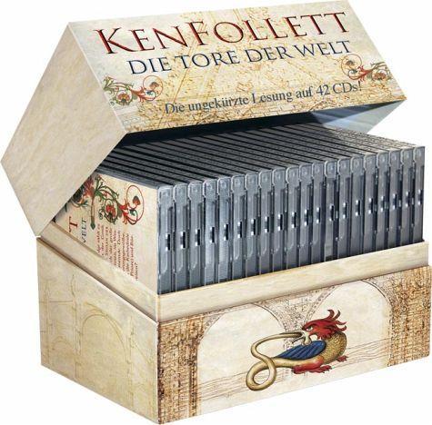 Die Tore der Welt (Ken Follett) ungekürztes Hörbuch auf 42 CDs für 29,99€ bei Weltbild (offline)