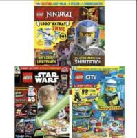 LEGO Magazine (mit Extras) im Abo für 1 Jahr mit Rabatt: LEGO Ninjago für 35,04 € - LEGO City und LEGO Star Wars für 31,96 €