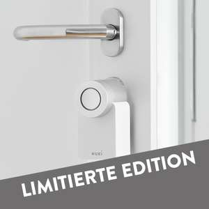 Limitierte Nuki White Edition (Smart Lock + Bridge + Powerpack)