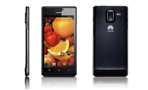 Android 4.0 Handy Huawei Ascend P1 ohne Vertrag für 279,95€