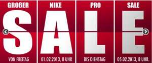 Nike Pro Funktionskleidungs Sale