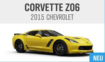 Forza Horizon 4 - Ingame Auto Corvette Z06 geschenkt