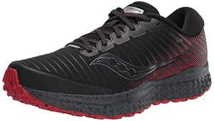 Laufschuh Saucony Guide 13 TR Black/red 2020 in Gr. 44, 44,5 (Sport Time Global über Amazon)