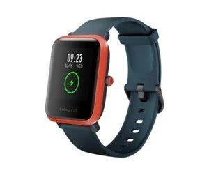 """Huami Amazfit Bip S - Red Orange Red Orange, intelligente Uhr mit Riemen, TPU-Silikon, Anzeige 3.3 cm (1.28""""), Bluetooth, 31 g [Proshop]"""