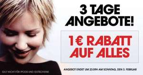 1,00 EUR Rabatt auf (fast) alles bei WOWHD