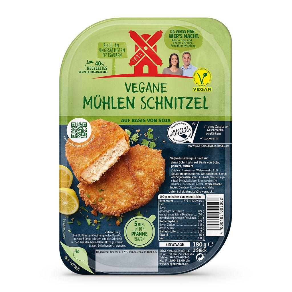 [Kaufland regional] Rügenwalder Mühle: Mühlen Schnitzel, Nuggets, Cordon bleu / vegan / ab 22.10. für nur 2,18€