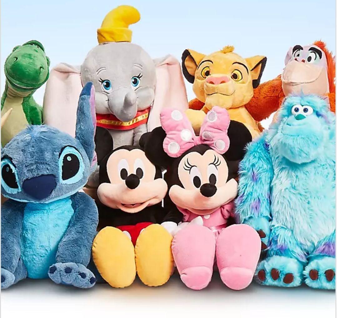 (Disney Shop) Große Kuscheltiere für 33,80
