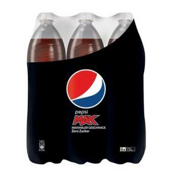 Pepsi Max 6x1,5L bei Getnow im Angebot für 2,88€ (zzgl. 4,90€ Versand/ ab 90€ vskfrei)