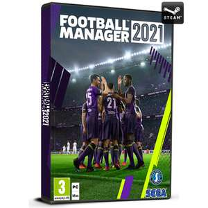 Football Manager 2021 (Steam) + Beta ab sofort Spielbar