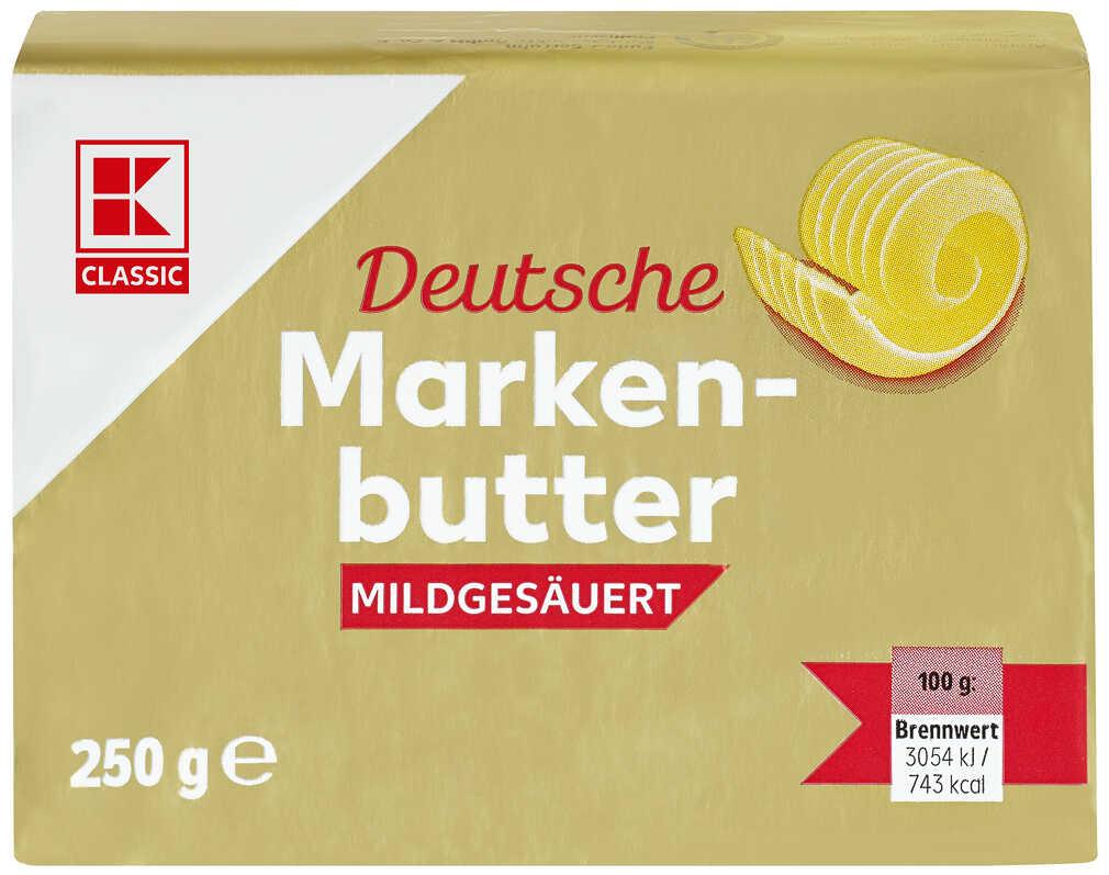 250g Deutsche Markenbutter für nur 0,97€ (Kaufland)