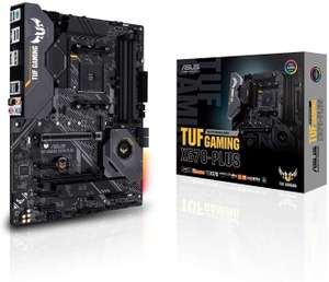 ASUS TUF Gaming X570-Plus Mainboard Sockel AM4 (Ryzen 3000 kompatibel, ATX-, PCIe 4.0, DDR4, USB 3.2, Aura Sync)