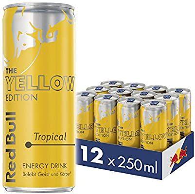 Red Bull Energy verschiedene Sorten 12er oder 24er 250ml(0,55€ pro Dose) Palette - Prime*Sparabo*
