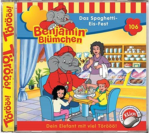 Benjamin Blümchen - Folge 106: Das Spaghetti Eis Fest für 2,48€ (Weitere Folgen ebenfalls in Angebot) @ Amazon Prime