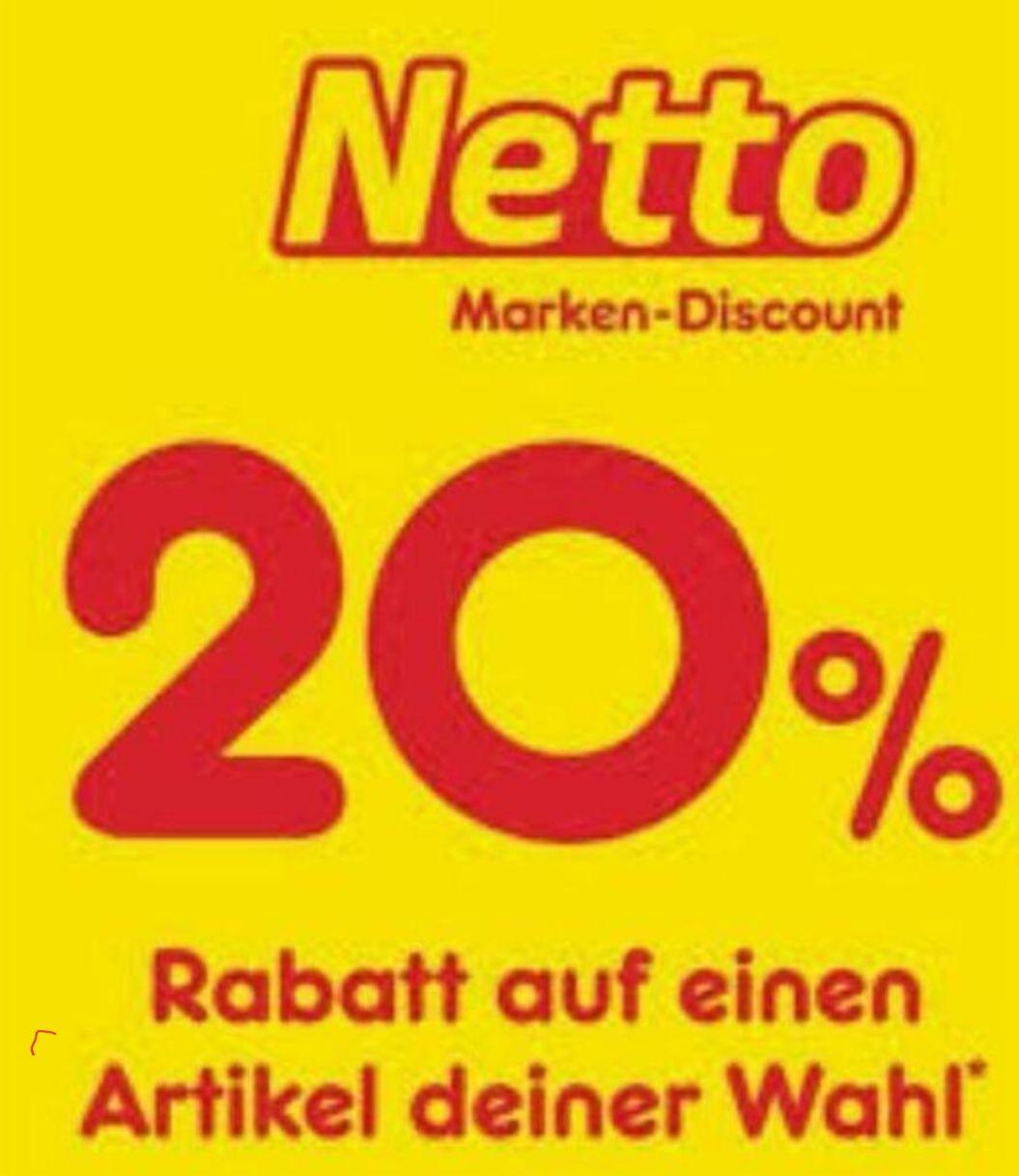 [Netto MD] Rabatt Coupons KW43 (19.10. - 24.10.), bundesweit einsetzbar