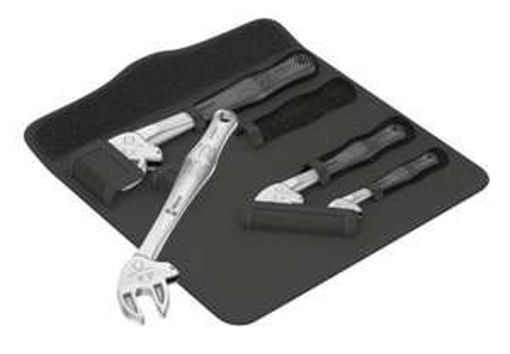 Wera 6004 Joker 4er Set Ring-Maulschlüssel-Satz mit Tasche NUES Werkzeug - Vorbestellen