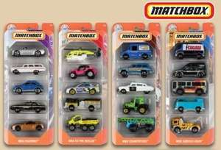 Matchbox 5-er Geschenk-Set Fahrzeuge, ab 26.10.20 bei LIDL