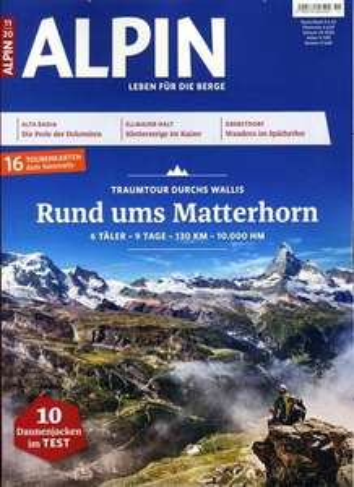 Alpin Abo (12 Ausgaben) für 74,40 € mit 65 € Amazon-Gutschein + 40°Paybackpunkte