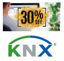 30% Rabatt auf ETS5 Lizenzen der KNX Organisation