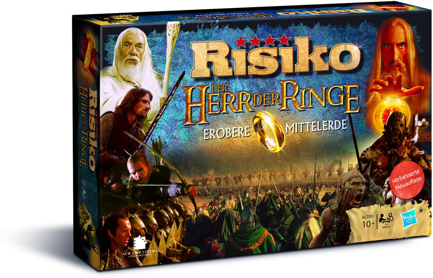 Risiko - Der Herr der Ringe - Erobere Mittelerde für 35,99€ inkl. Versand (eBay)