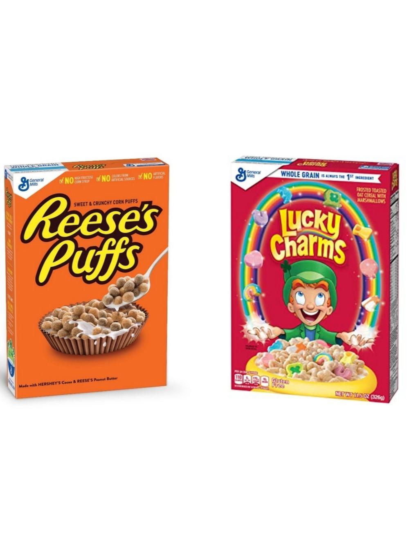 [Edeka Center evtl. Lokal] Lucky Charms oder Reese's Puffs mit 10% Kleberabatt für 7,06€